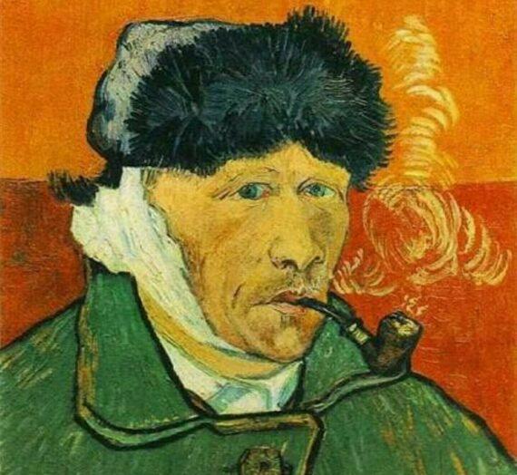 Le détournement de l'Autoportrait à l'oreille bandée de Vincent Van Gogh dans la publicité