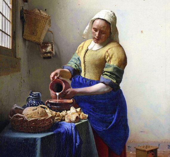 Le détournement de La Laitière de Johannes Vermeer dans la publicité