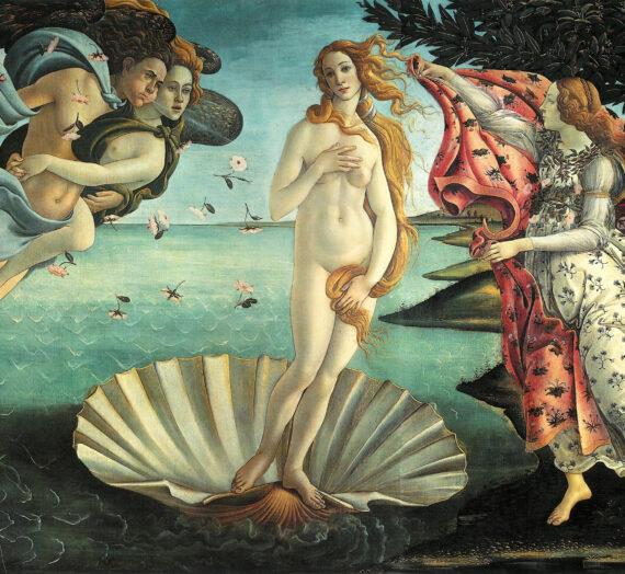 Le détournement de La Naissance de Vénus de Sandro Botticelli dans la publicité
