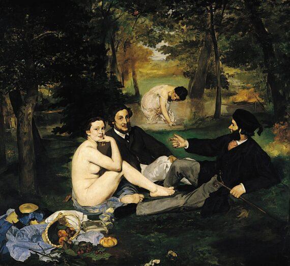 Le détournement du Déjeuner sur l'herbe d'Édouard Manet dans la publicité