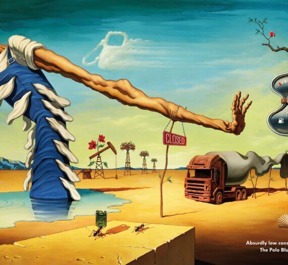 Le détournement des peintures du surréalisme dans les annonces publicitaires