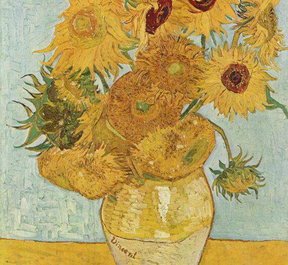 Le détournement des Tournesols de Vincent Van Gogh dans la publicité