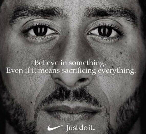Les marques choisissant un engagement avec l'exemple publicitaire de Nike