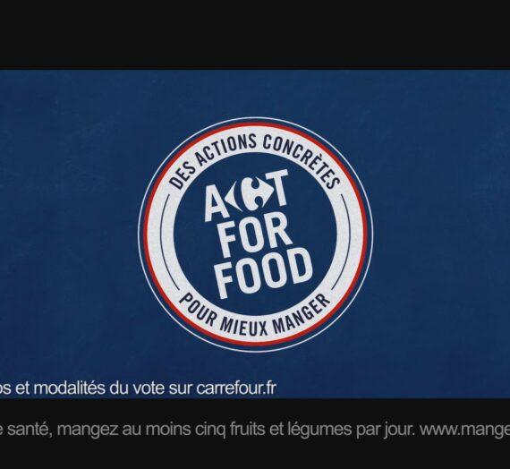 Les actions concrètes de l'engagement de marque avec l'Act for food