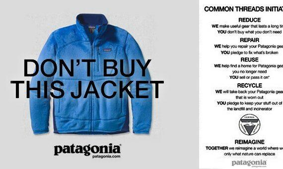 Les marques engagées avec l'exemple publicitaire de Patagonia
